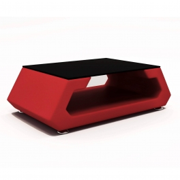 Table basse DAVY rouge